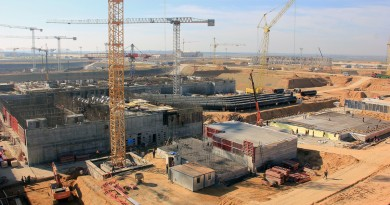 Belarus Ostrovets NPP construction