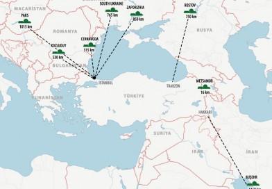 Türkiye'nin Etrafındaki Nükleer Santraller