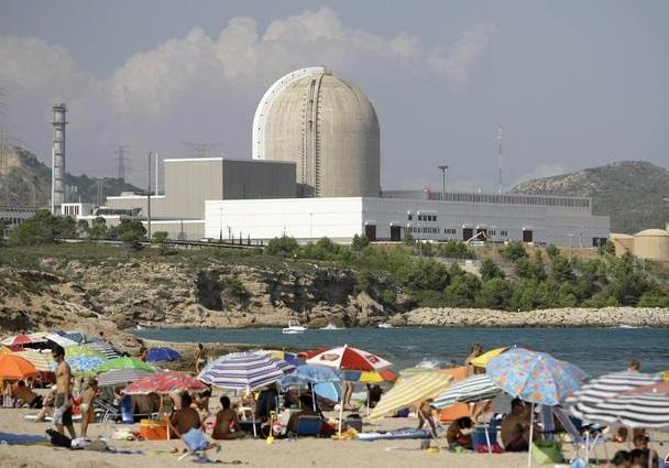 Vandellos Nükleer Santrali-Akdeniz Kıyısı
